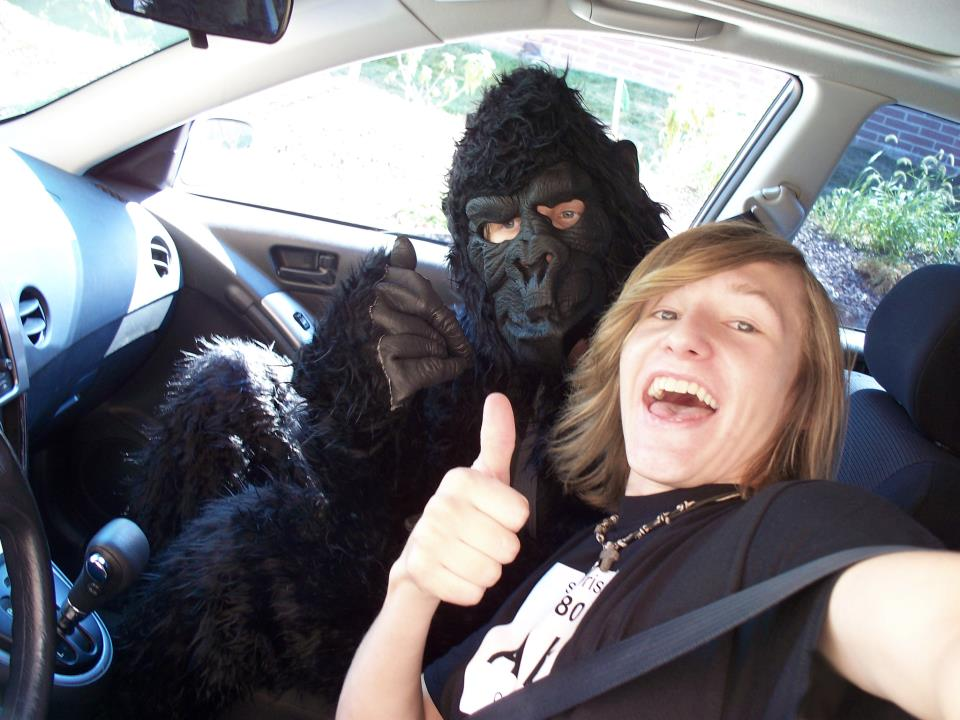 """Coco"" the Gorilla and the Taco Bell DriveThru"