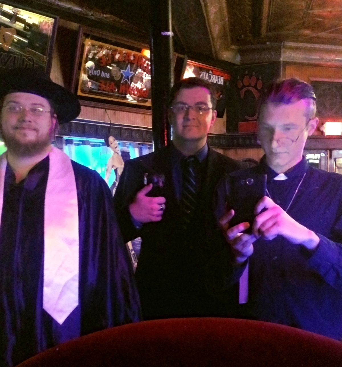 A Rabbi, Priest and Minister Walk into a Bar… Seriously.