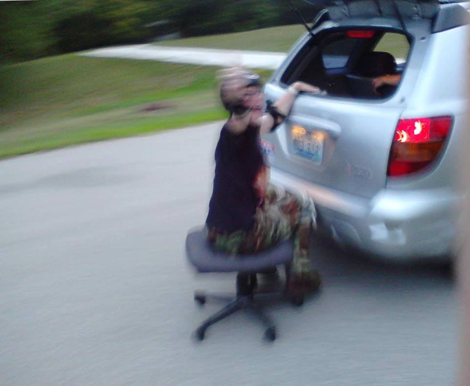 Office Chair Fun