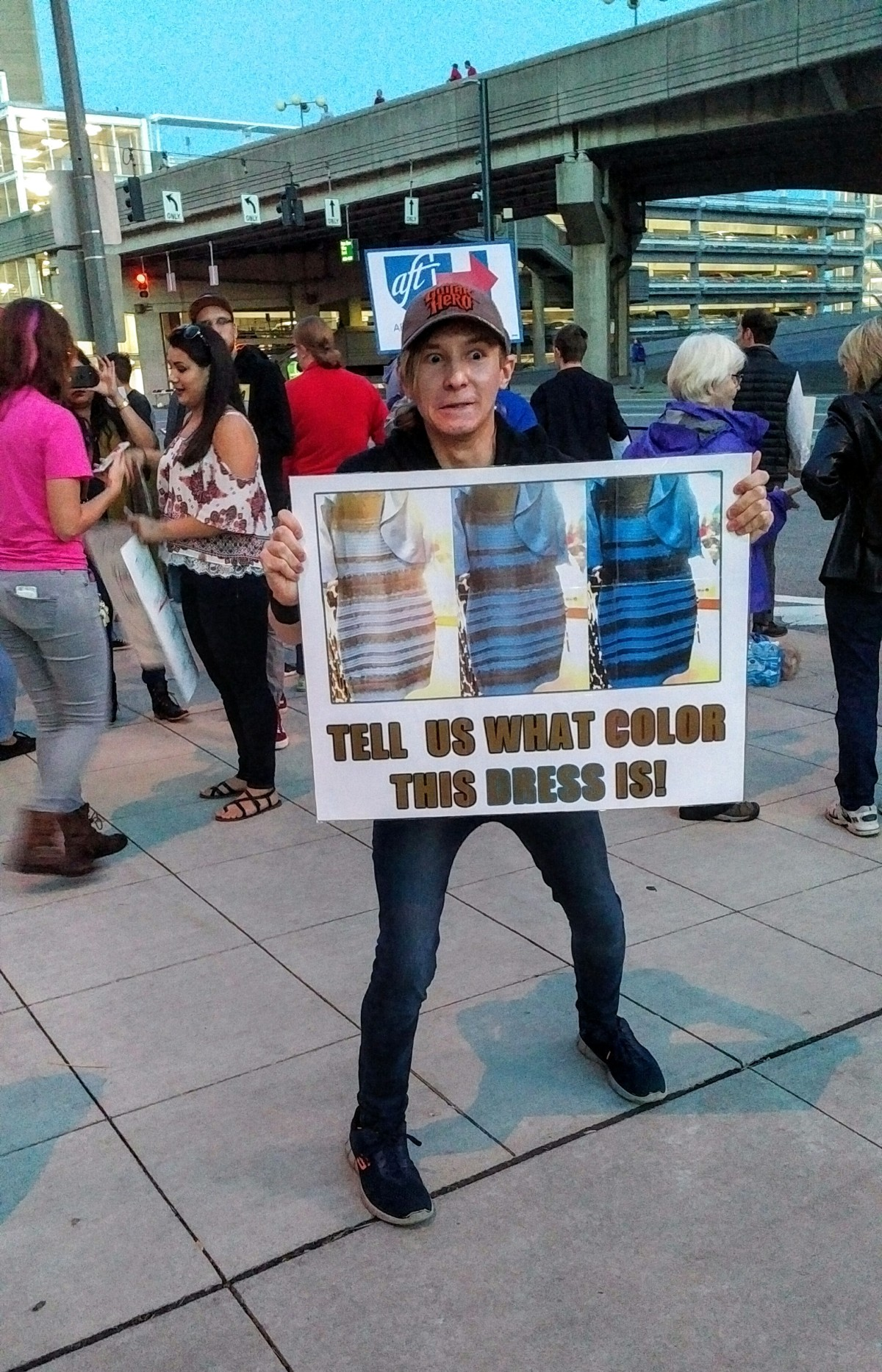 Protest The Dress