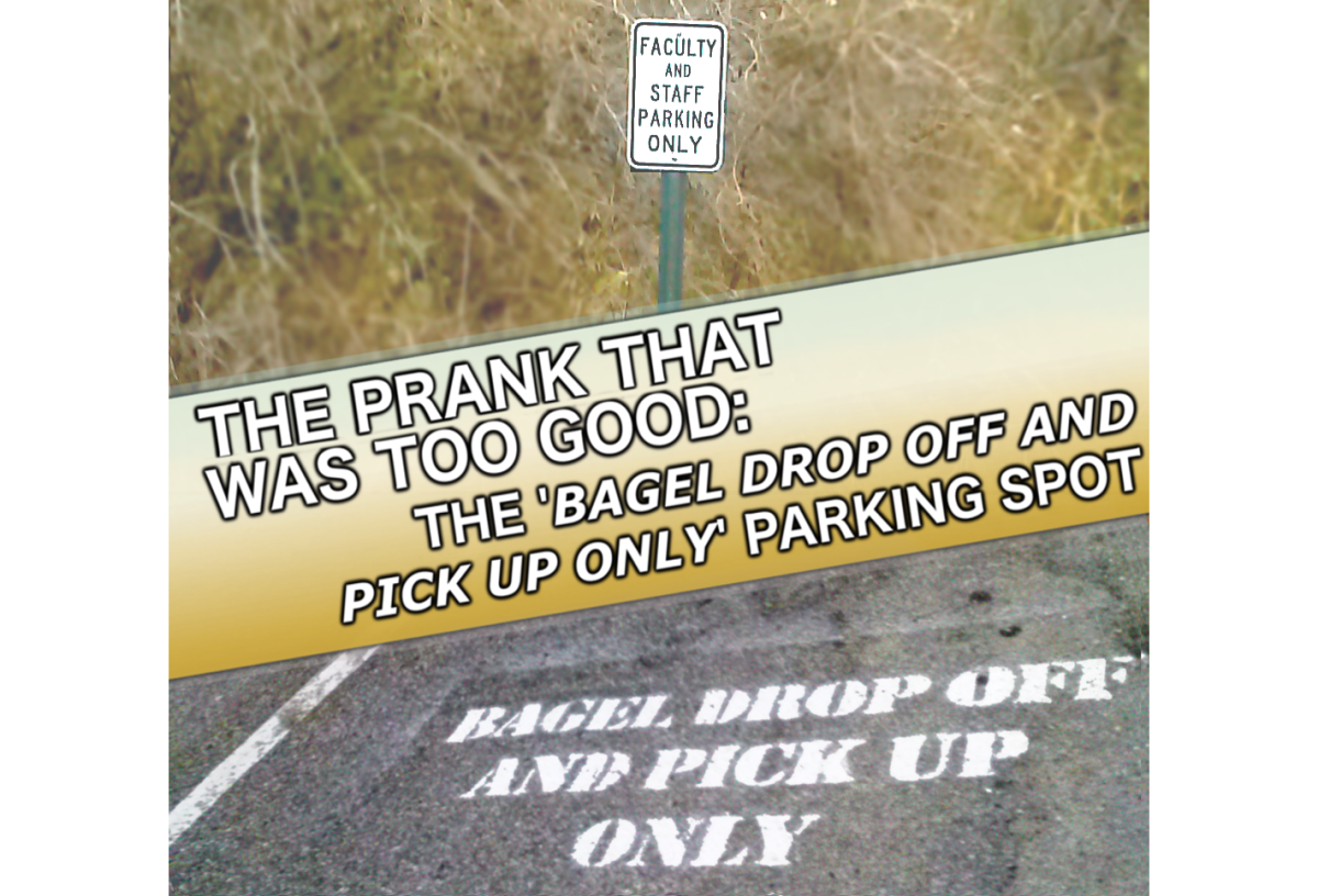 "The Prank That Was Too Good: The ""BAGEL DROP OFF AND PICK UP ONLY"" Parking Space"